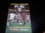 1981 Final, Liverpool v West Ham United