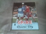 Chesterfield v Chester City, 1983/84