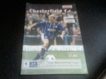 Chesterfield v Macclesfield Town, 1998/99