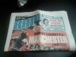 Derby County v Manchester United, 1976/77