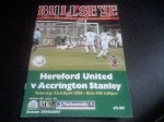 Hereford United v Accrington Stanley, 2004/05