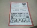 Hereford United v Burton Albion, 1966/67
