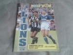 Millwall v Cambridge United, 1992/93