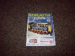 Newcastle Town v Burscough, 1996/97