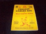 Prescot Cables v Warrington Town, 1997/98