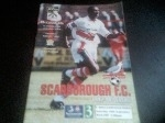 Scarborough v Macclesfield Town, 1997/98