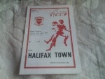 Scunthorpe United v Halifax Town, 1978/79