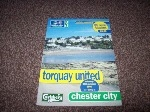 Torquay United v Chester City, 1997/98