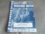 Winsford United v Southport, 1992/93