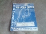 Winsford United v Southport, 1992/93 (PC)
